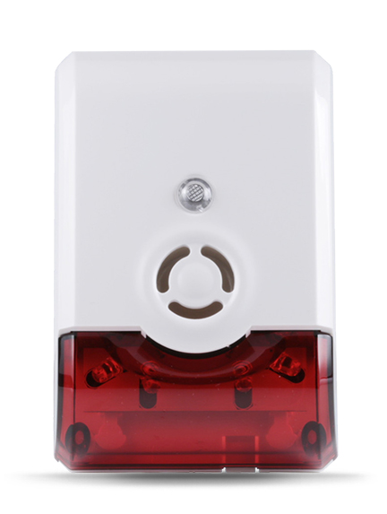 siren with strobe true i smart home solution. Black Bedroom Furniture Sets. Home Design Ideas